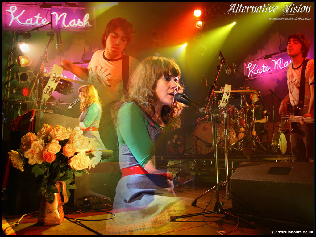 Alternative Vision - Kate Nash Desktop Background Image