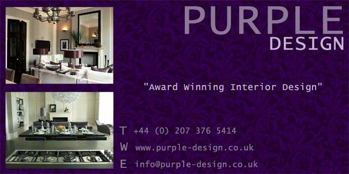 Purple Design Promotion Board Image