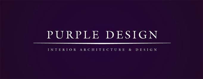 Purple Design Website Banner Image