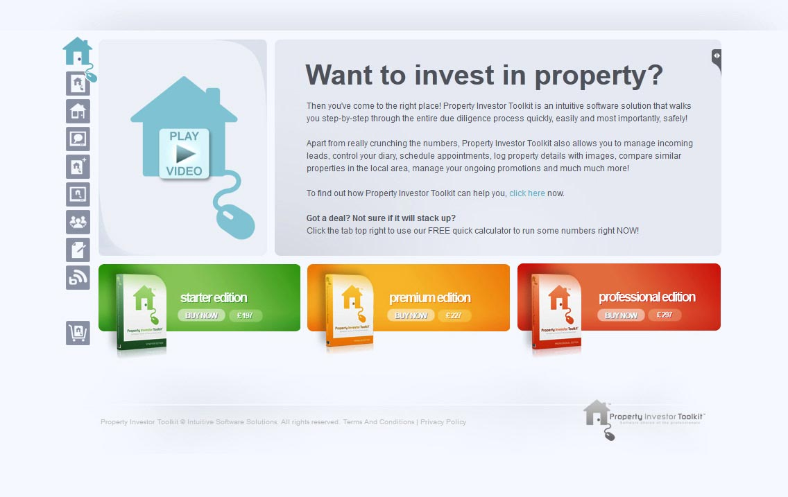 Property Investors Toolkit Website Image